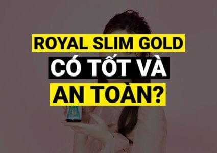 Royal Slim Gold Minh Lady Beauty COVER