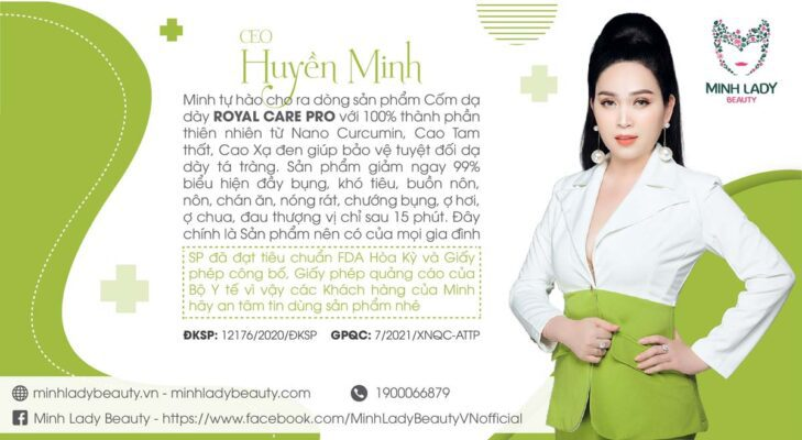 Royal Care Pro Minh Lady Beauty 1